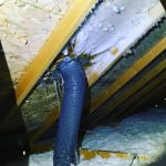 air duct leak